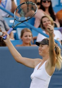 After winning the title at Cincinnati, Maria Sharapova is one of the top contenders for the U.S. Open