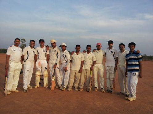 (L to R): Bhadresh, Ananth, Goutham, Kaustubh (C), Jobin (VC), Gauram R, Gaurav R, Gurjinder, Srikrishnan, Mridul, Vinay