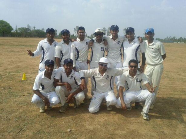 Standing (L to R): Gaurav, Bhargav, Harsha (WK), Jobin, Goutham, Ashish, Shoukath Squatting (L to R): Gaurav, Gokul LN, Kaustubh (C), Yugank