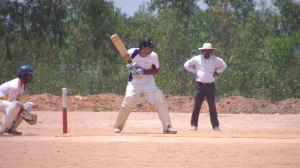 Prashanth's 59 not out helped AMD reach 162