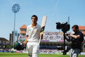 Ashton Agar's dream debut ended two runs short of a century