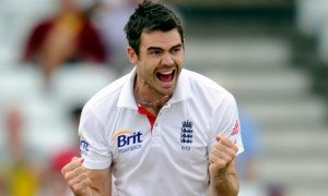 James Anderson lived up to expectations with a classic out-swinger that sent Clarke back home