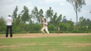 Swayam n route to his unbeaten 73. © The CouchExpert