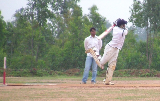 Bharath's innings was the difference between the two sides. © The CouchExpert
