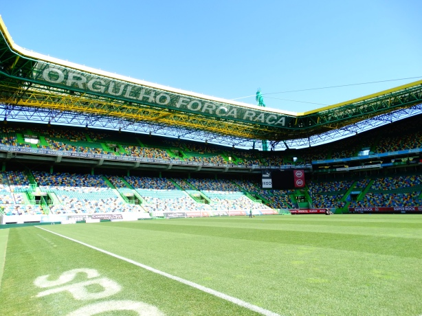 The stadium can host around 50000 spectators